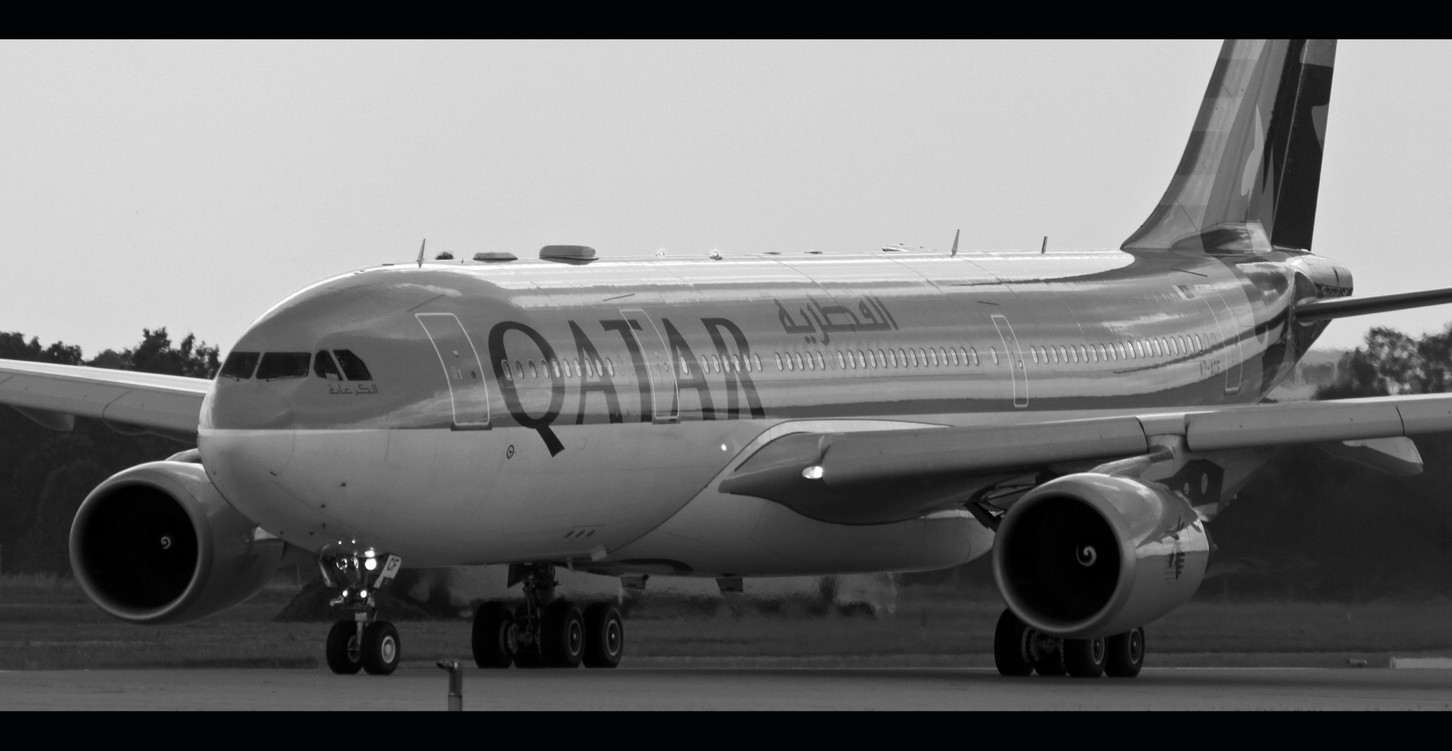 ....aufstrebende Airline vom Persischen Golf