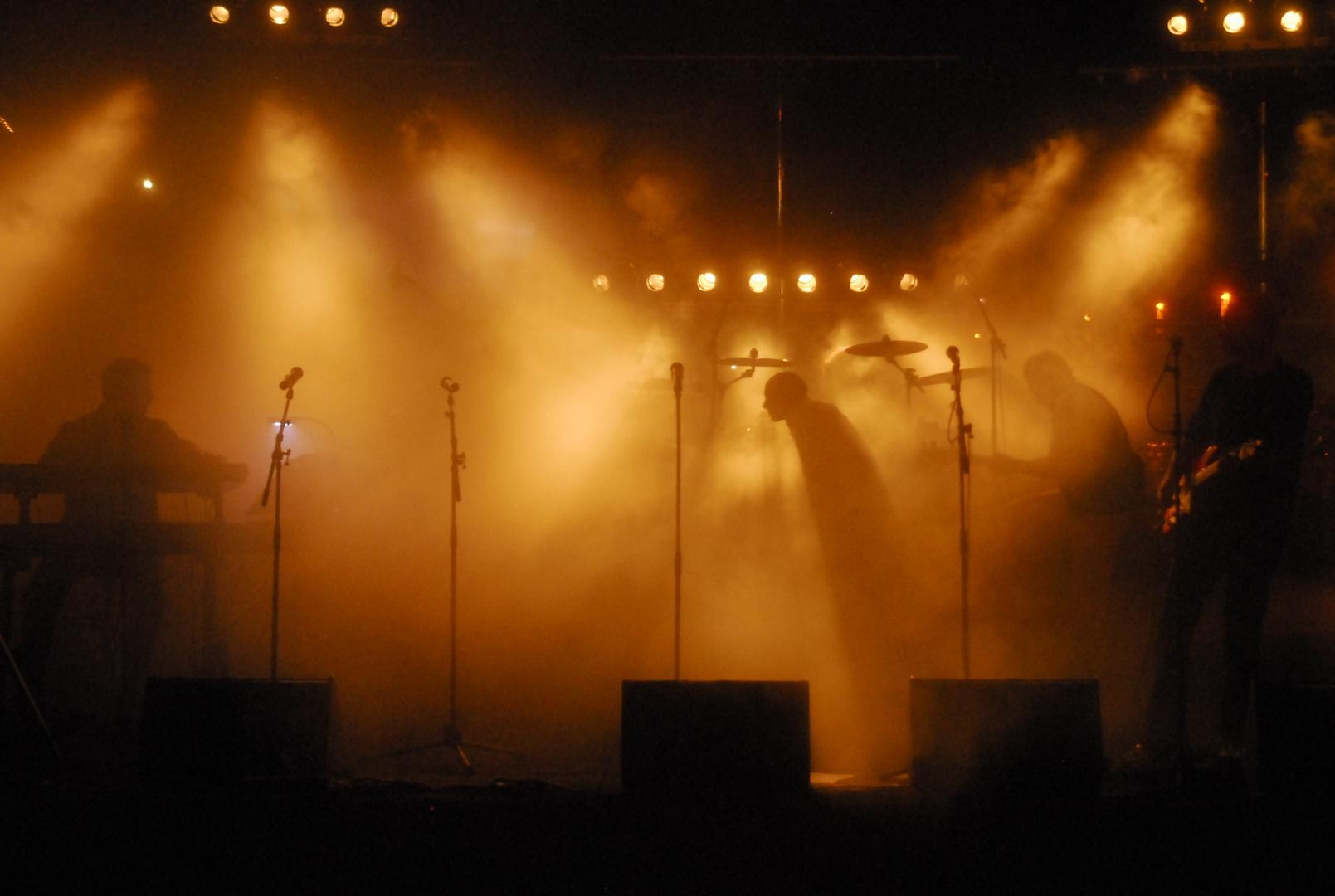 """Auftritt der Band """"Phil"""" beim Rheinhafenfest"""