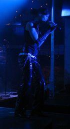 Auftritt der Coverband Audio-1 am 24.09. in Modschiedel, hier Sängerin Jessika