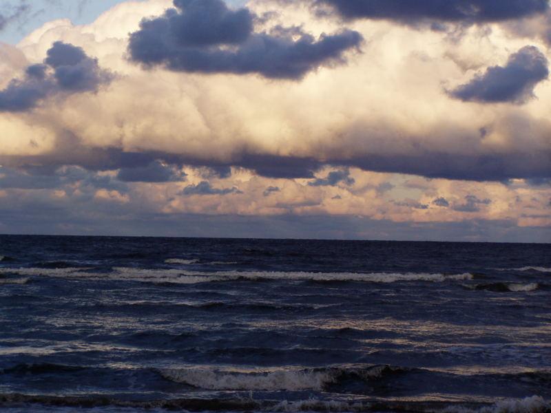 aufziehender Sturm....