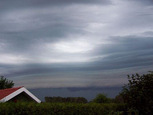 Aufziehender Sturm in Gronau (Westf.)