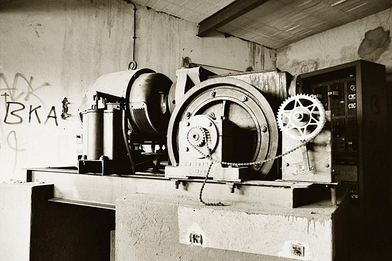 Aufzugsmaschine