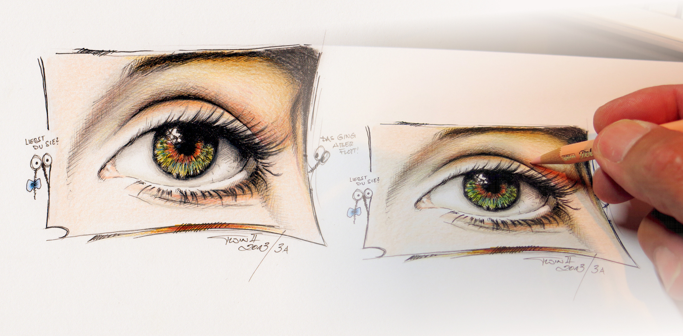 Auge die 2. Version