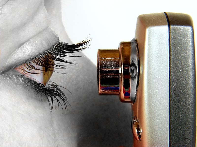 Auge in Auge....