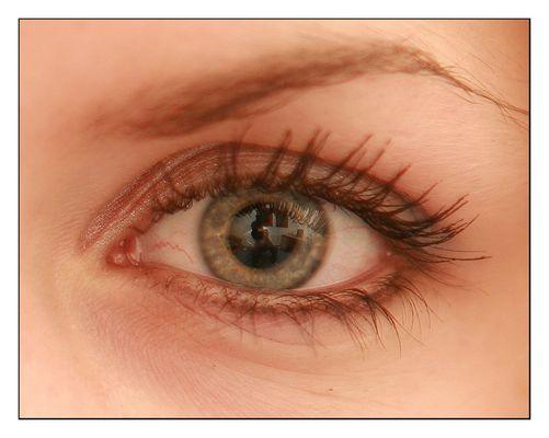 Auge mit Tiefgang
