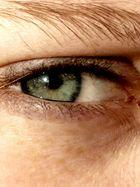 Auge von meiner Schwester