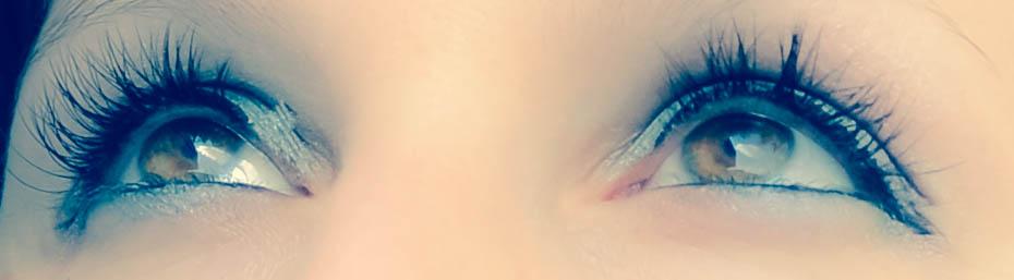 Augen als Waffe