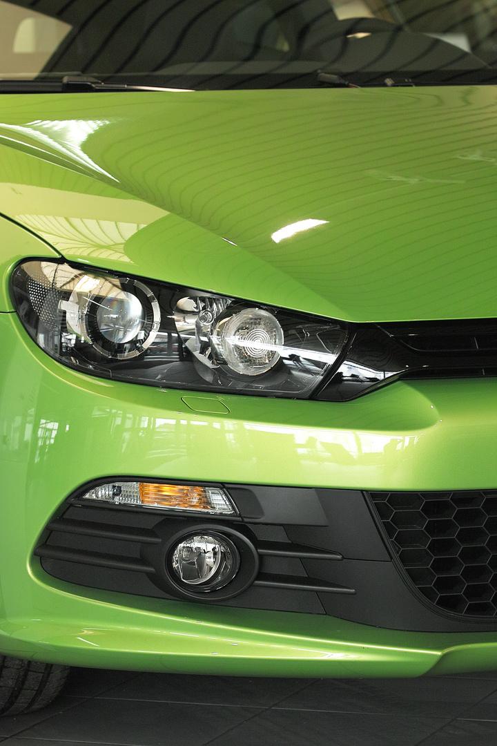 Augen eines Autos...
