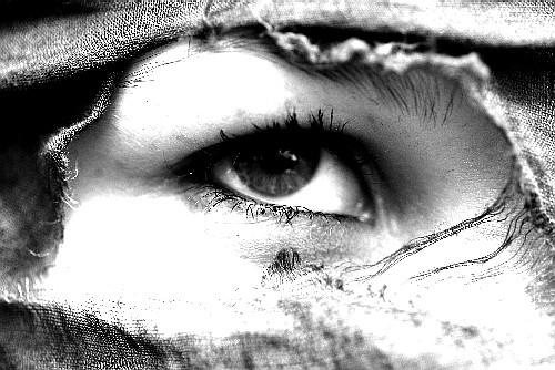 Augen sind Fenster ins Innere...