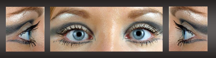 Augen-Triptichon