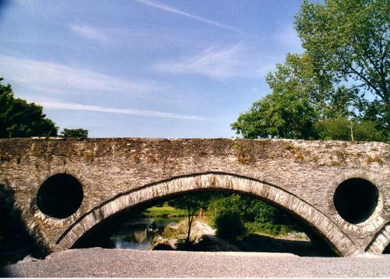 Augenbrücke am River Teifi/Wales