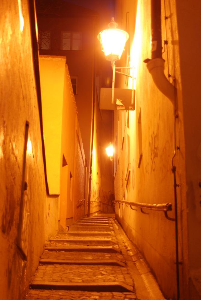 Augsburg by night....