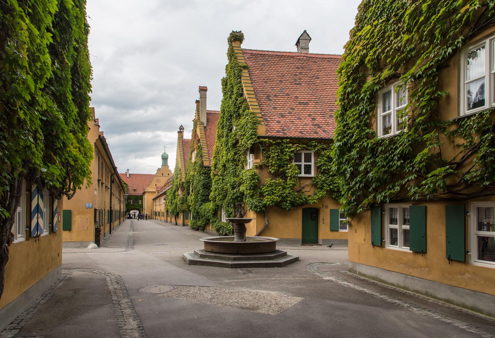 Augsburg Fuggerei 2
