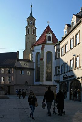 Augsburg: Martin-Luther-Platz und Annakirche