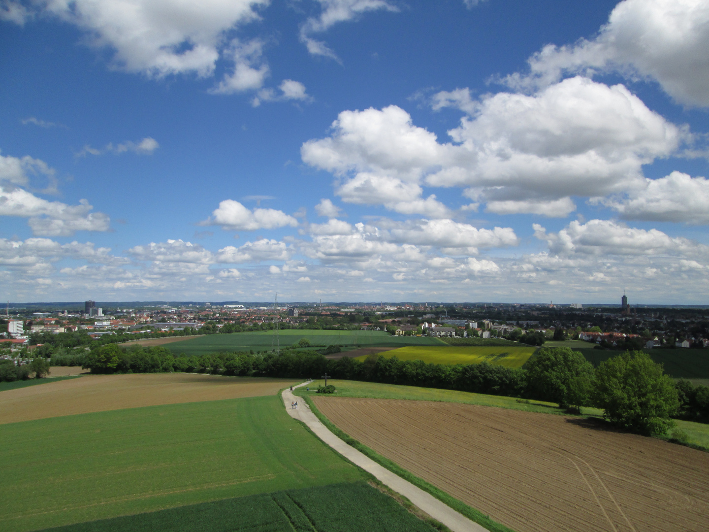 Augsburger Bismarckturm auf dem Steppacher Berg