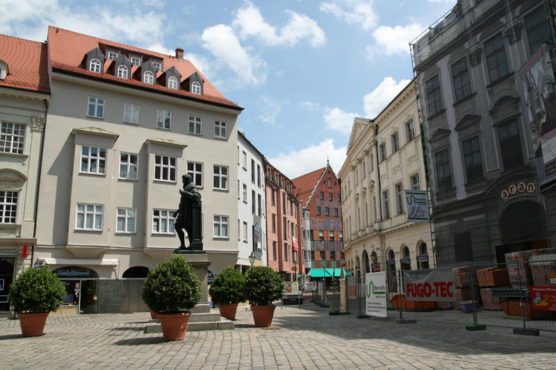 Augsburger innenstadt foto bild deutschland europe bayern bilder auf fotocommunity - Mobel um augsburg ...