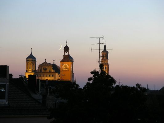 Augsburgs Blaue Stunde