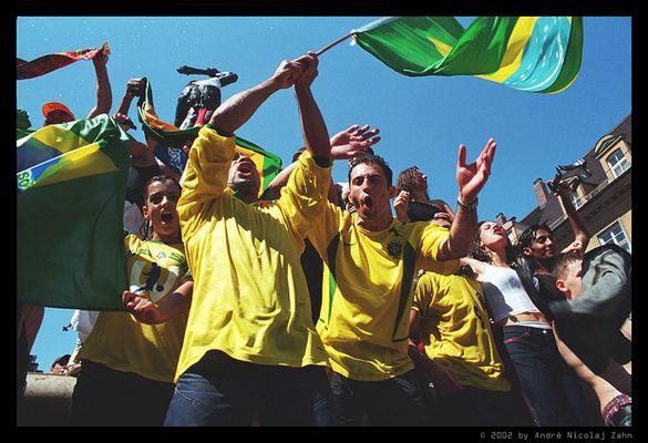 Augsburgs Brasilien-Fans