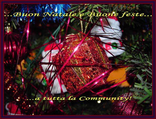 Auguri di Buon Natale...a tutti voi!