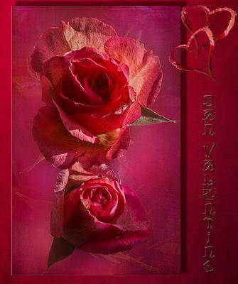 AUGURI....di uno Spendido San Valentino.....