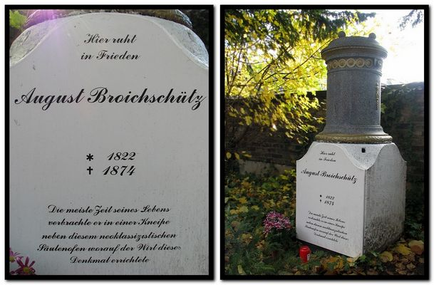 August der Ofen ist aus - auf dem Kölner Friedhof Melaten