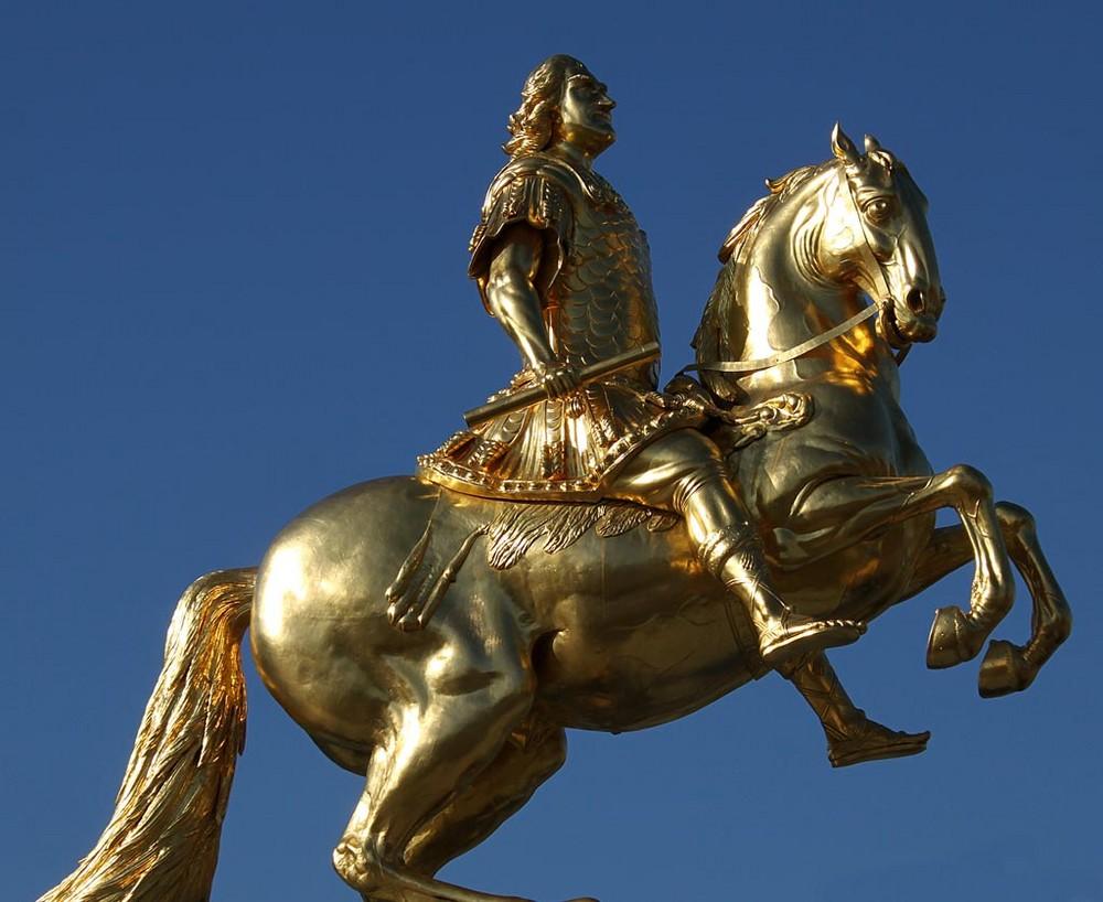 August der Starke - Der Goldene Reiter in Dresden