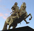 August reitet nach Krakau