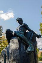 August Strindberg Statue