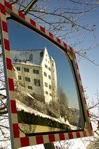 Aulendorf Schloß im Spiegel
