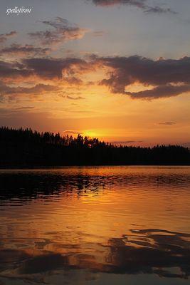 Auringonlasku / Sonnenuntergang