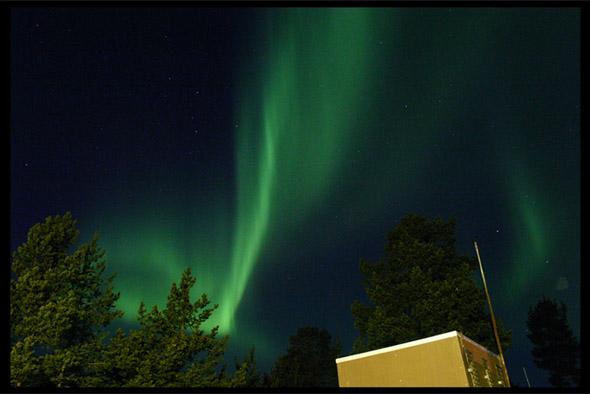 ... aurora borealis ...
