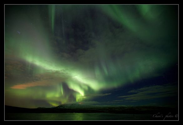 Aurora borealis - Þingvellir