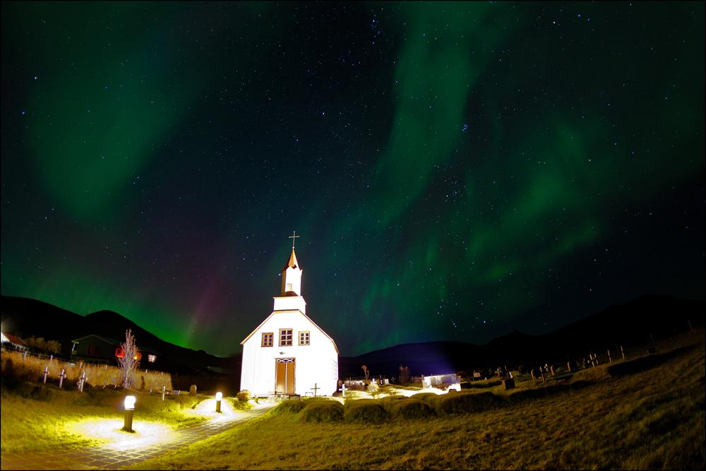 Aurora borealis - Island 2013 #08