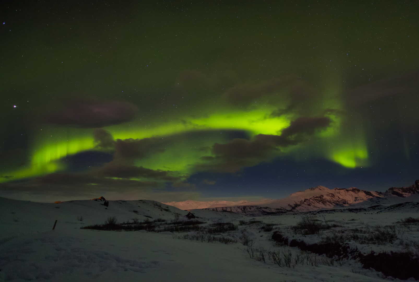Aurora Borealis Island II