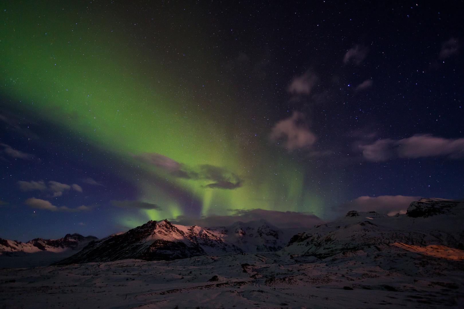 Aurora Borealis Island, Nordlichtzauber