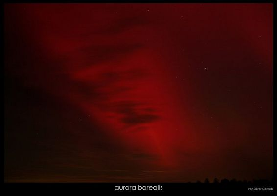 """aurora borealis . Nordlicht """"bedrohlich"""""""