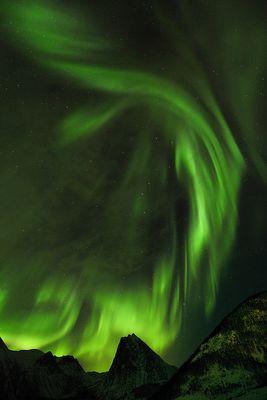 Aurora in Selfjorden