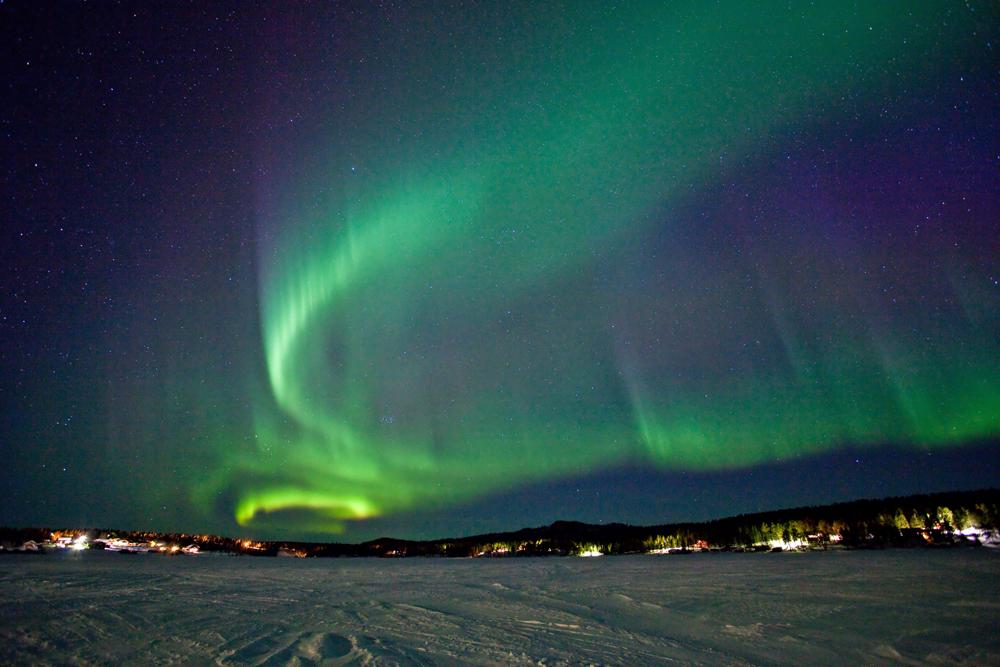 Aurora over Kiruna