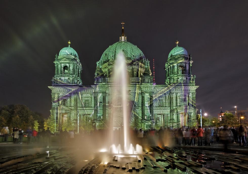 Aurora über Berlin