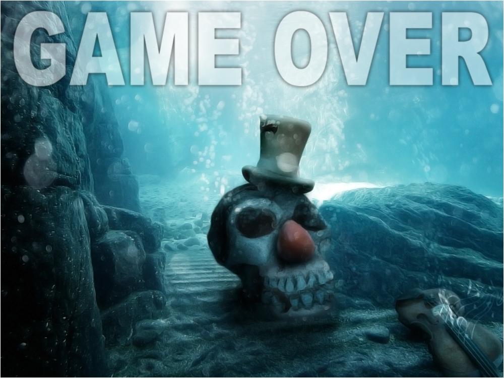 Aus - Aus, dass Spiel ist Aus und der Upload für den 56. Digiart-Challenge > Der Clown < beendet !!!