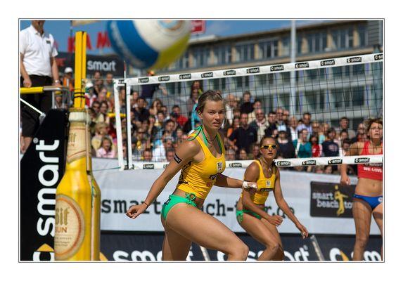 AUS? Beach Volleyball in Leipzig