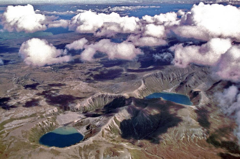Aus dem Archiv: Flug über den Vulkan