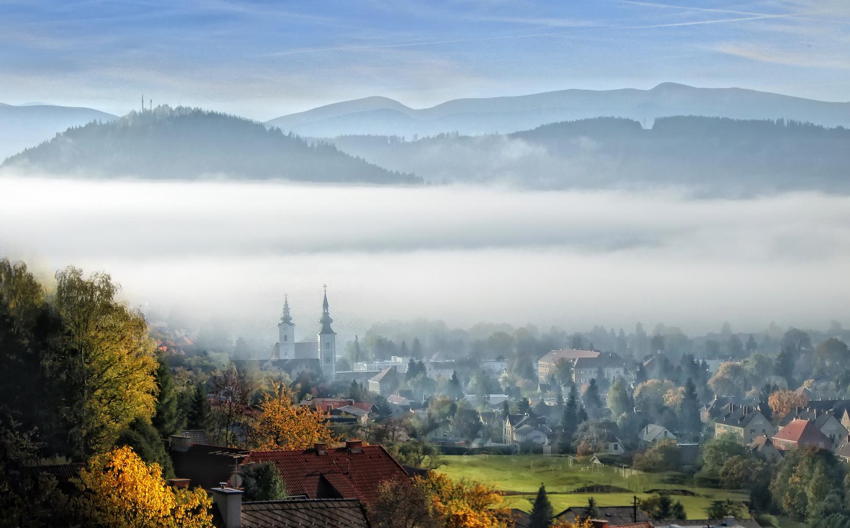 Aus dem Nebel