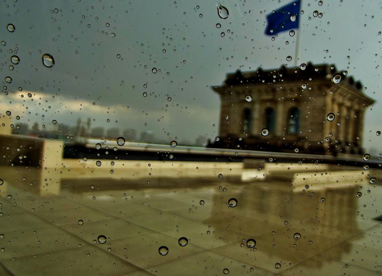 Aus dem Reichstagsgebäude