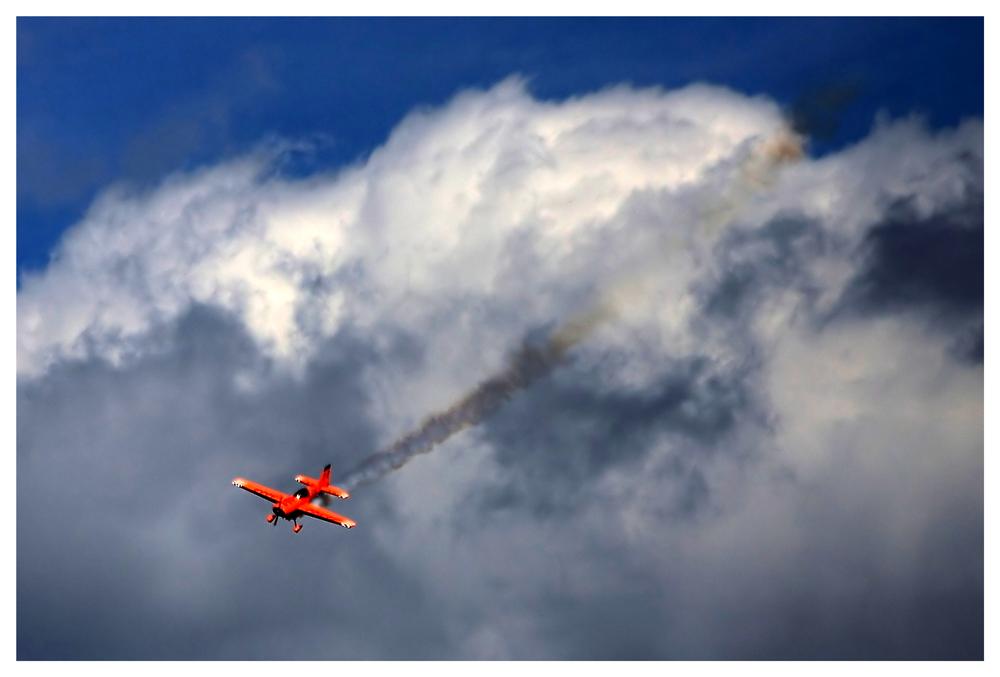 Aus den Wolken