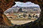 Aus der Höhle in Kappadokien