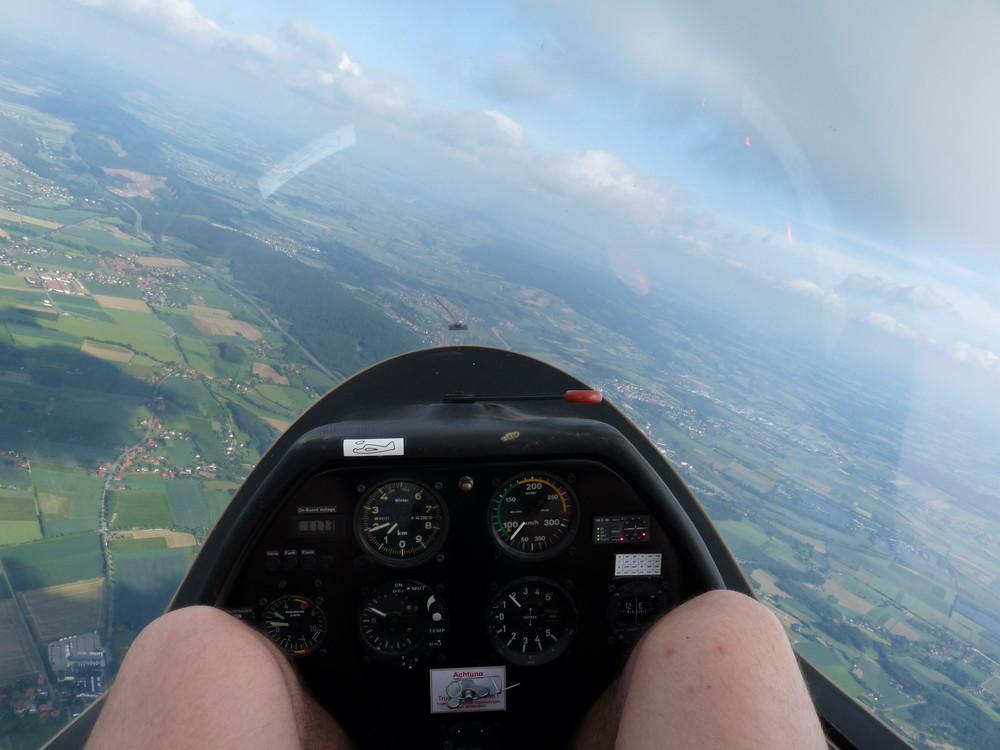 Aus der Sicht des Piloten