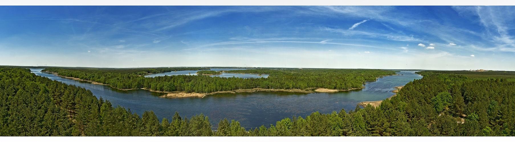 Aus der Vogelperspektive Panorama