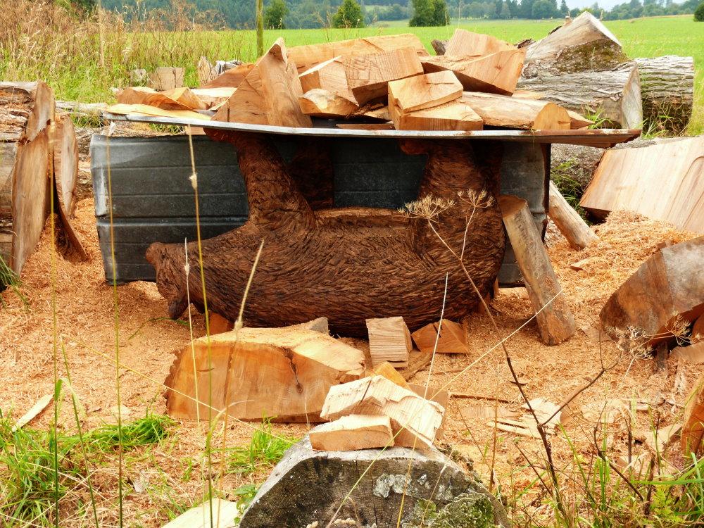 Aus Holz geworden