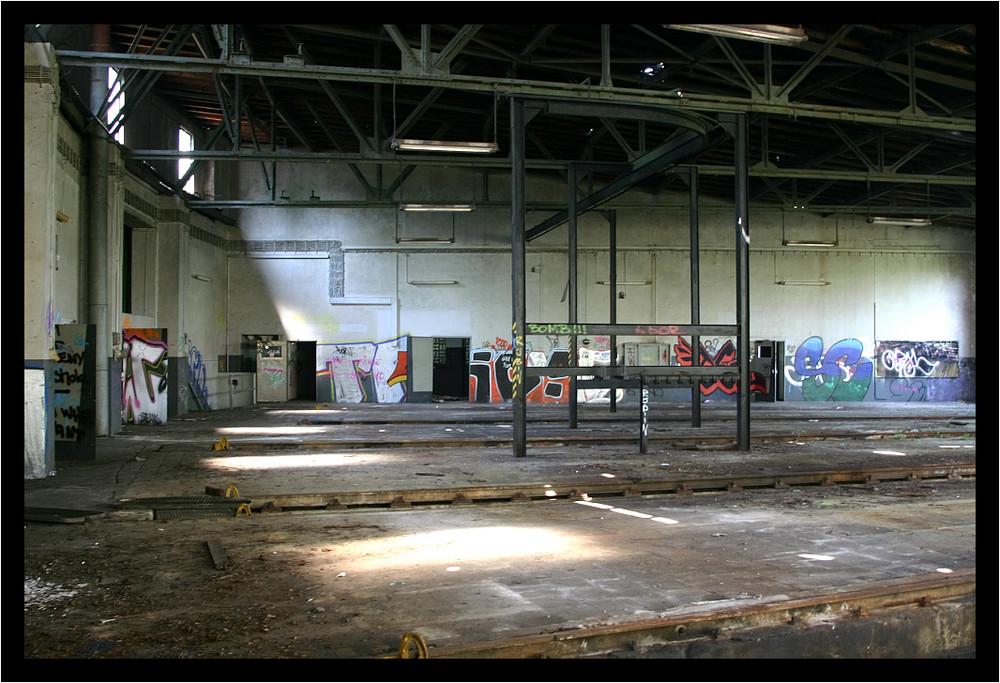 Bahnhof Löhne aus meinen archiv der ringlockschuppen in löhne bahnhof 2 foto